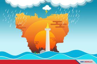 Jakarta Diancam Banjir, Tiga Hal Ini Perlu Diantisipasi
