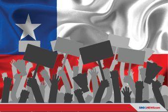 Gereja-Gereja Dibakar Demonstran, Saat Demo Besar di Chile