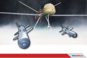 Drone Indonesia Elang Hitam Akan Dipadu Amunisi Presisi Turki