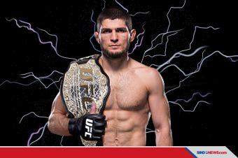 Khabib Juara UFC, Robohkan Gaethje Hingga Pingsan