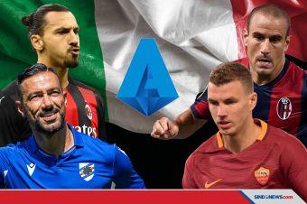 Tua-tua Keladi, Berikut Penyerang Gaek di Serie A Italia Musim Ini
