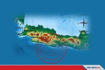 Gempa Bumi 4,5 SR Kembali Guncang Wilayah Pangandaran