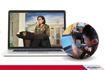 Sri Mulyani Larang Rapat Saat Jam Sekolah Mulai November