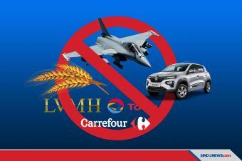 Daftar Produk Prancis yang Berpotensi Diboikot Dunia Muslim