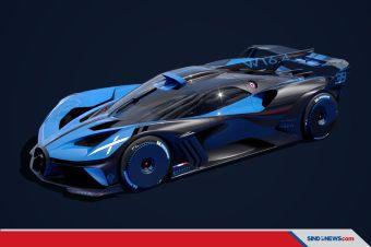 Melihat Performa Bugatti Bolide, Diklaim Tandingi Mobil Formula1
