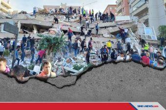 Gempa 7,0 SR Guncang Laut Aegean, Getarkan Turki dan Yunani