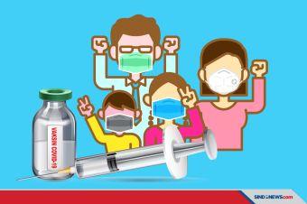 Wajib Tahu, Vaksinasi Efektif 95% Mencegah Penyakit Menular