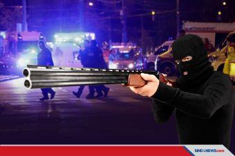 Aksi Teror Guncang Wina, 2 Tewas Termasuk Pelaku Penembakan