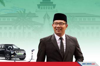 Ridwan Kamil Wajibkan Kendaraan Dinas Mobil-Motor Listrik di 2021
