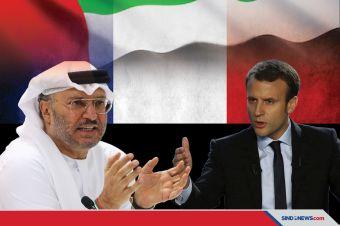 Macron Didukung Menlu UEA Tentang Pernyataan Integrasi Muslim