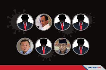 Banyak Menteri Diduga Positif Covid-19, Hanya 3 Terbuka Umumkan