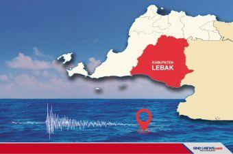 Gempa Bumi Berkekuatan 5,2 SR Guncang Lebak Banten