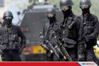 Densus 88 Antiteror Tangkap Terduga Teroris di Lebak Banten