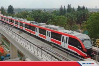 LRT Jabodebek Direncanakan Beroperasi pada Pertengahan 2022