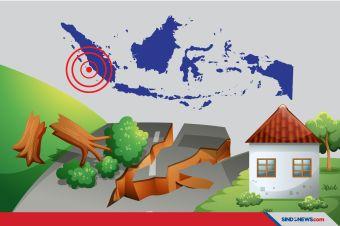Gempa Magnitude 6,3 Guncang Mentawai, Warga Panik Keluar Rumah
