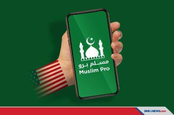 Aplikasi MuslimPro Jual Data Lokasi 100 Juta Muslim ke Militer AS