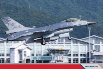 Sebulan Dua Kecelakaan, Taiwan Kandangkan Seluruh Jet F-16 nya
