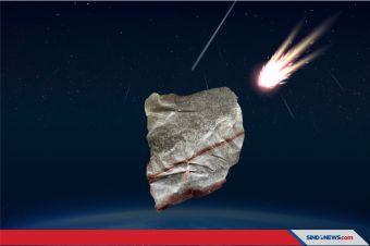 Batu Meteor yang Ditemukan di Medan Diteliti di AS