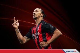 Rekor Ibrahimovic Saat AC Milan Menang Atas Napoli