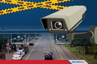 PSBB Jakarta, Polda Metro Jaya Tetap Berlakukan Tilang Elektronik