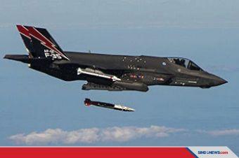 AS Ujicoba Jet Siluman F-35 untuk Serangan Nuklir Supersonik