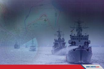Latihan di Laut Natuna, TNI AL kerahkan 9 kapal dan 1 pesawat