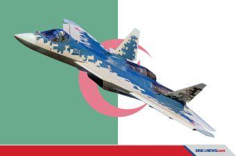Aljazair Akuisisi 14 Jet Tempur Siluman Gen-5 Su-57 dari Rusia