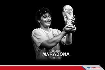 Kabar Duka, Legenda Sepakbola Argentina Maradona Meninggal Dunia