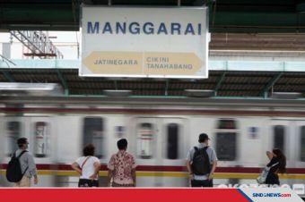 Stasiun Manggarai Bakal Jadi Stasiun Pusat Kereta Api