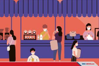 Kiat Jaga Sehat saat Belanja di Pasar Rakyat