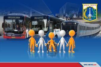 Moda Transportasi Publik DKI Fasilitasi Penyandang Disabilitas