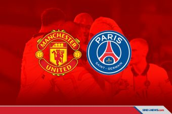PSG Sukses Jinakkan Manchester United di Old Trafford