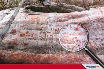 Puluhan Ribu Lukisan Zaman Es DiTemukan di Amazon