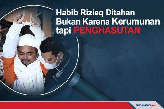 Polri Sebut Habib Rizieq Ditahan Karena Penghasutan