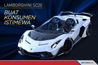 Satu-satunya di Dunia, Lamborghini SC20 Buat Konsumen Istimewa