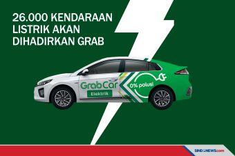 26.000 Kendaraan Listrik akan Dihadirkan Grab di Indonesia!