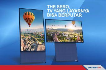 The Sero, TV dengan Layar Rotasi Pertama di Dunia