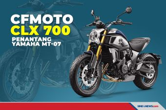 Bergaya Scrambler, CFMoto CLX700 Siap Tantang Yamaha MT-07