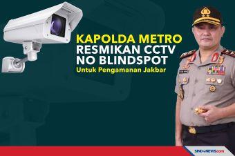 Kapolda Metro Resmikan CCTV No Blindspot Untuk Pengamanan Jakbar