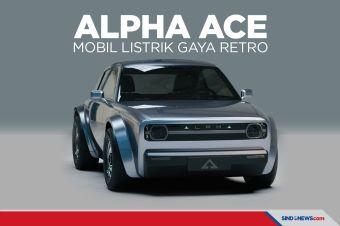 Keren, Alpha Ace Hadirkan Mobil Listrik Bergaya Retro