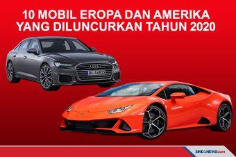 10 Mobil Eropa dan Amerika yang Meluncur di Indonesia Tahun 2020