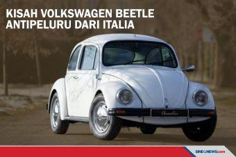 Kisah Mobil Volkswagen Beetle Antipeluru dari Italia
