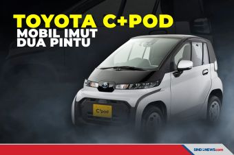Toyota C + pod Mobil Imut Dua Pintu siap Goda Pengguna Motor