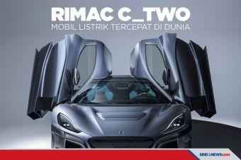 Rimac C_Two, Mobil Listrik Tercepat di Dunia Siap Dijual 2021