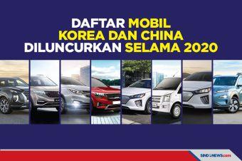 Daftar Mobil Korea dan China yang Diluncurkan Selama 2020