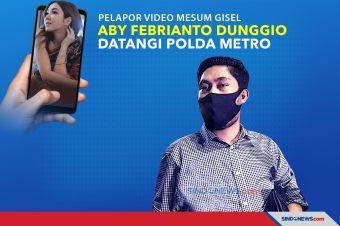 Pelapor Video Mesum Gisel, Aby Febrianto Datangi Polda Metro Jaya