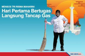 Hari Pertama Mensos, Risma Tancap Gas Lakukan Aksi Blusukan