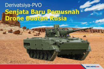 Derivatsiya-PVO, Senjata Baru Pemusnah Drone Milik Rusia