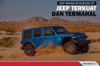 Jeep Wrangler Rubicon 392, Wrangler Termahal dan Paling Bertenaga
