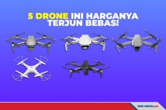 Ayo Buruan! Tahun Baru, Harga Lima Drone Ini Terjun Bebas